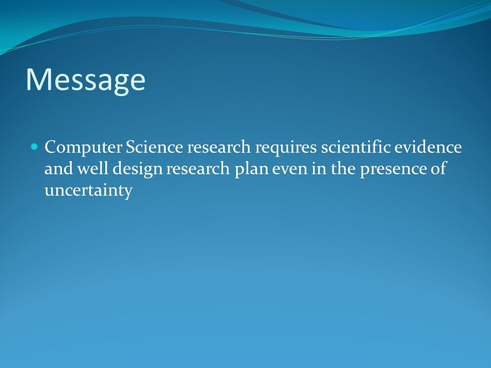 Research proposal phd application computer science