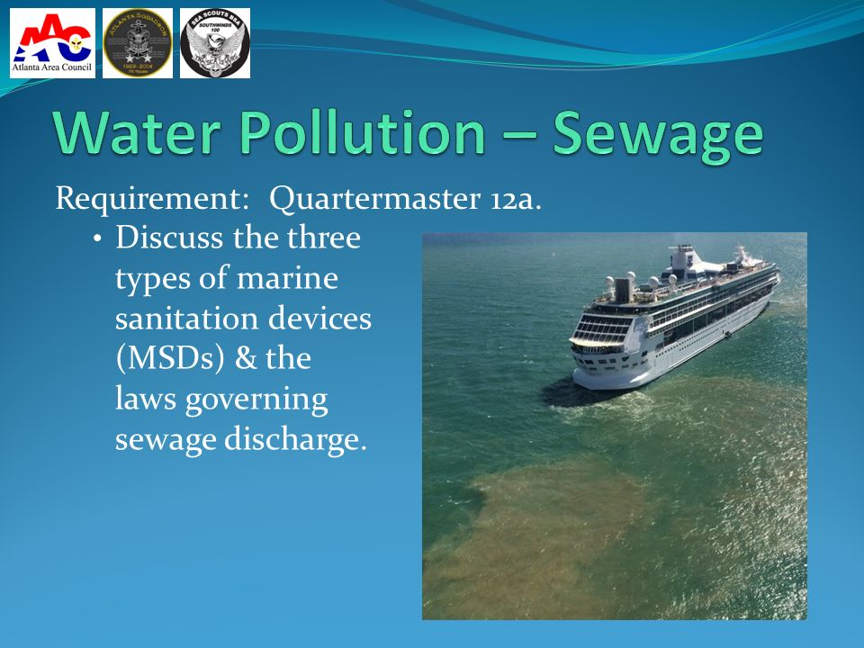 Environment Water Pollution Oil Hazardous Materials Plastics - Cruise ship sewage