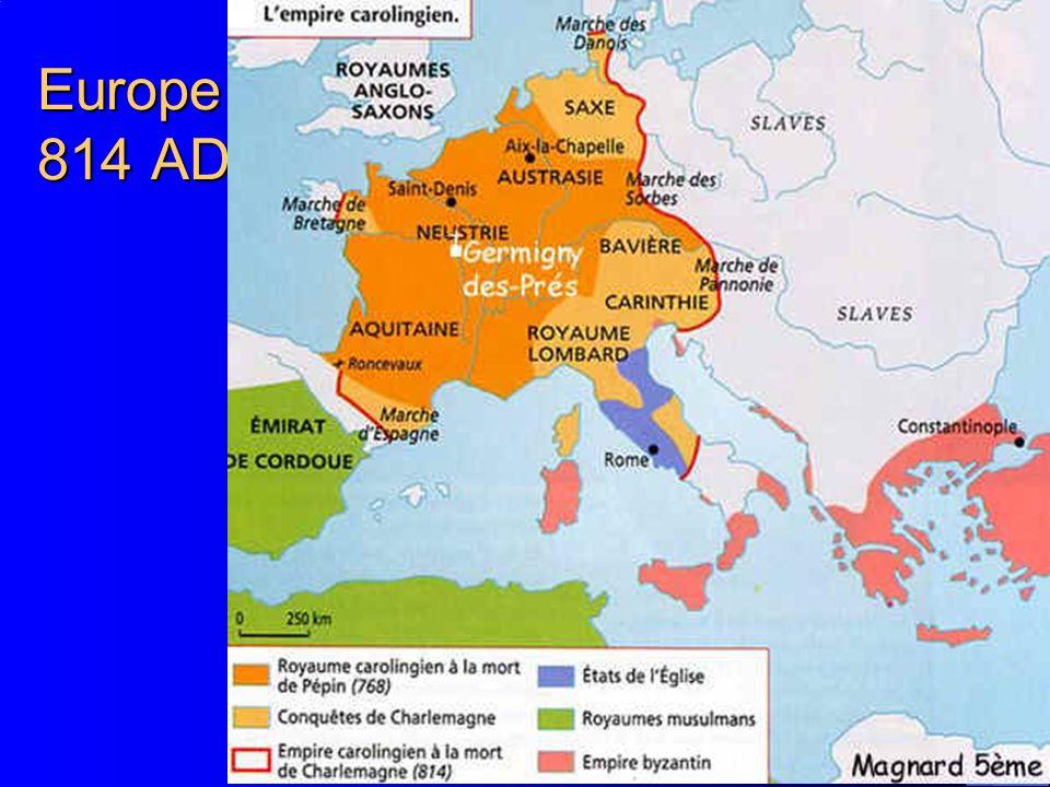 13 Europe 814 AD