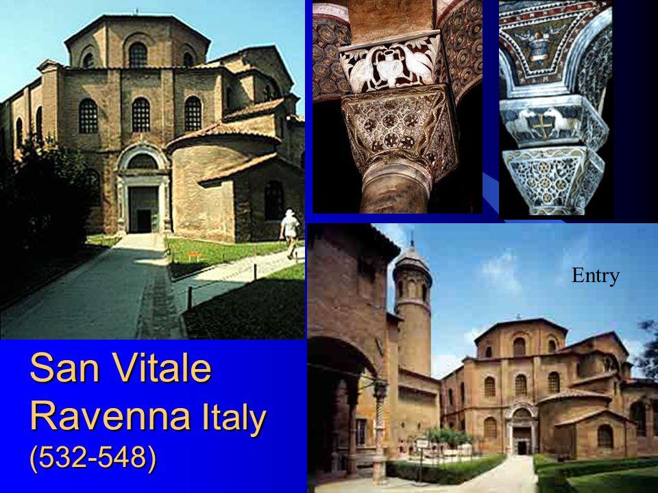14 San Vitale Ravenna Italy (532-548) Entry