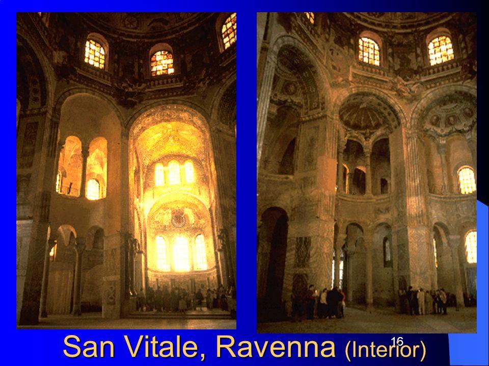 16 San Vitale, Ravenna (Interior)