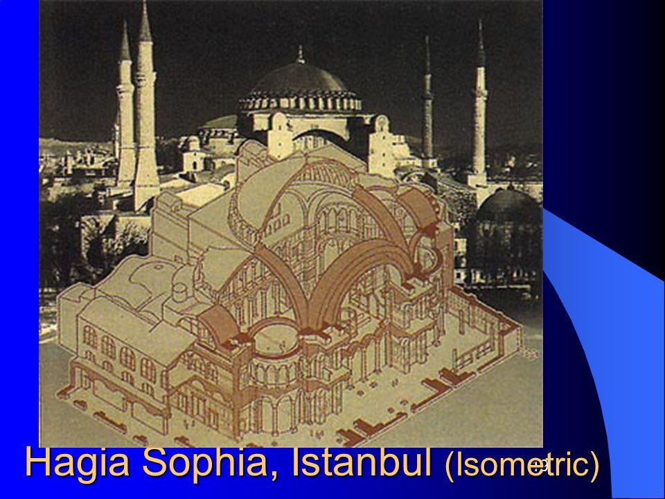 19 Hagia Sophia, Istanbul (Isometric) Cross-Section