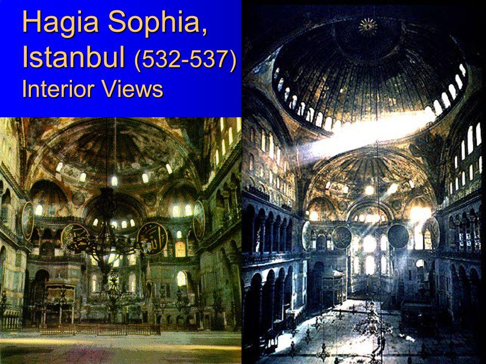 22 Hagia Sophia, Istanbul (532-537) Interior Views
