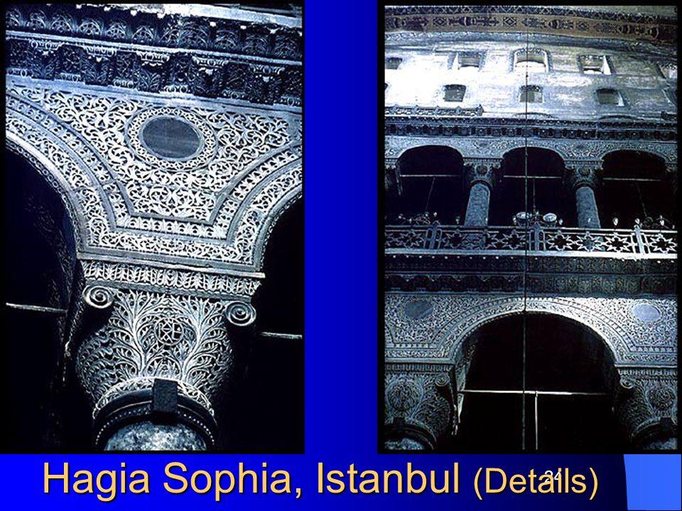 24 Hagia Sophia, Istanbul (Details)