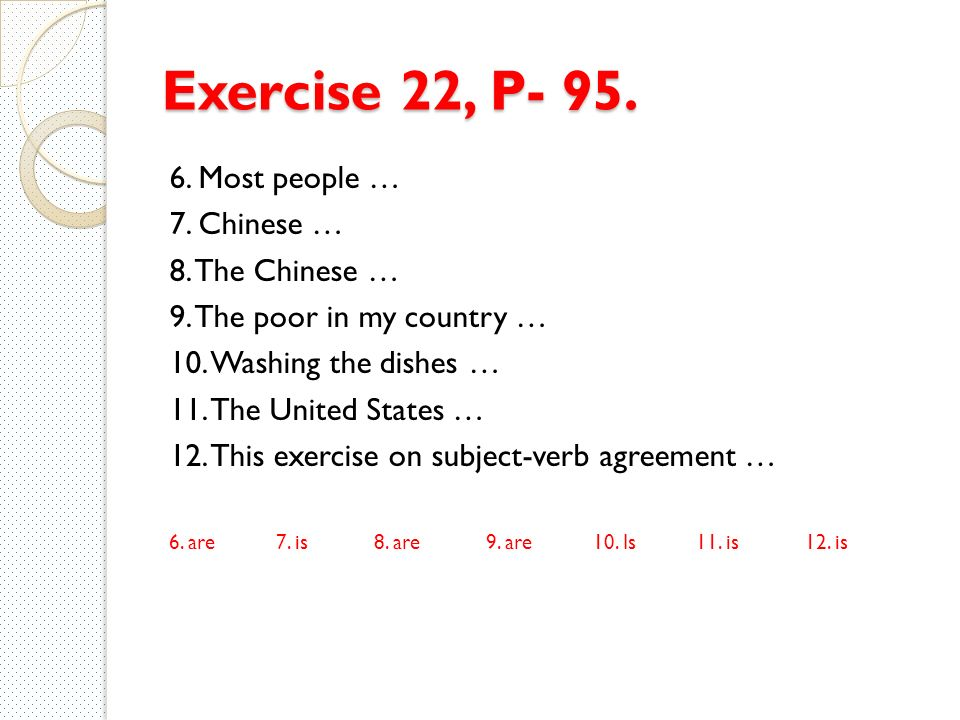 Subject Verb Agreement Exercise Choice Image Agreement Letter Format