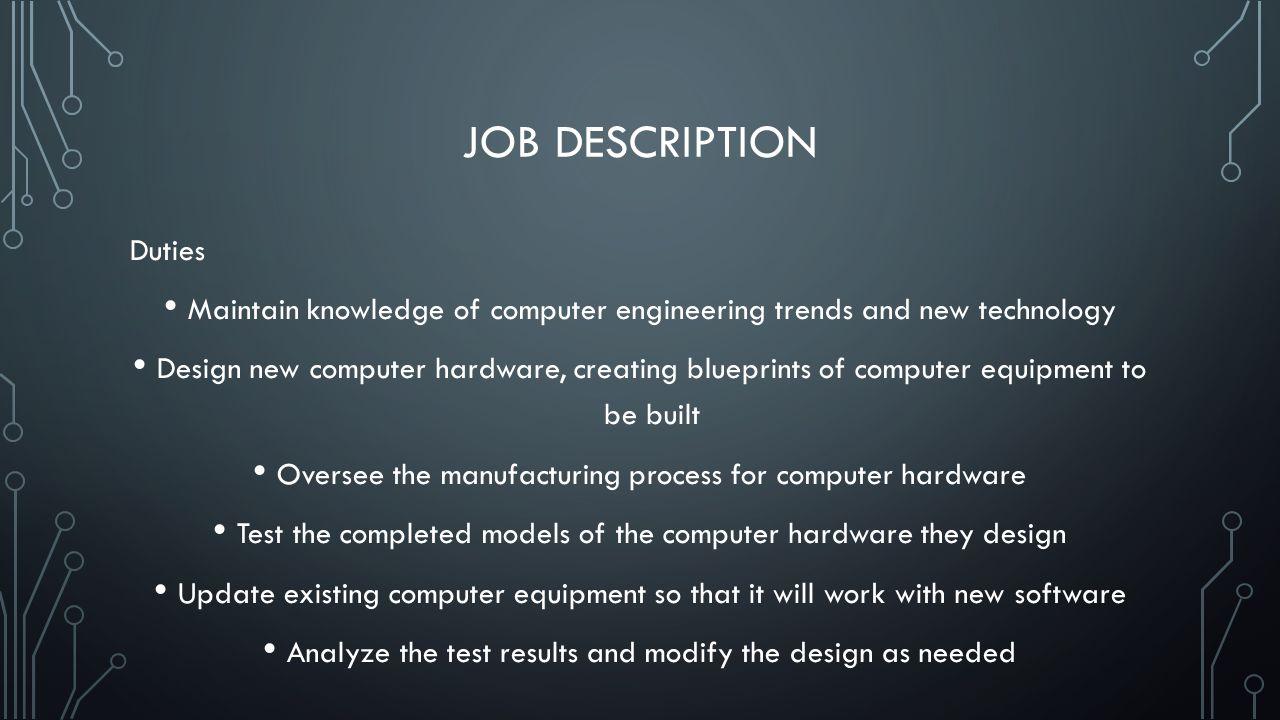 computer engineering job description