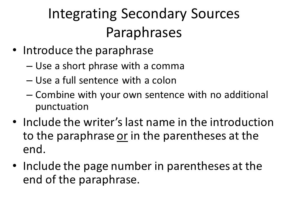 integrating secondary sources into essay Can someone please help me understand the full meaning of a secondary source we are supposed to write an argumentative essay incorporating one secondary source.