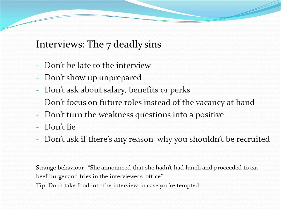 4 interviews - Employer Interview Tips Techniques Guide