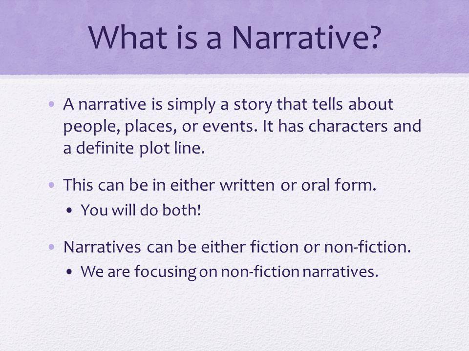 How to write a split narrative?