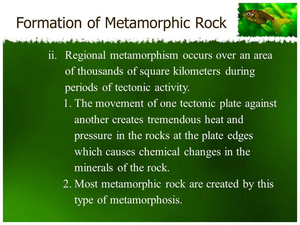 Metamorphic Rock Chapter Metamorphic Rock 1.Metamorphic Rock a ...