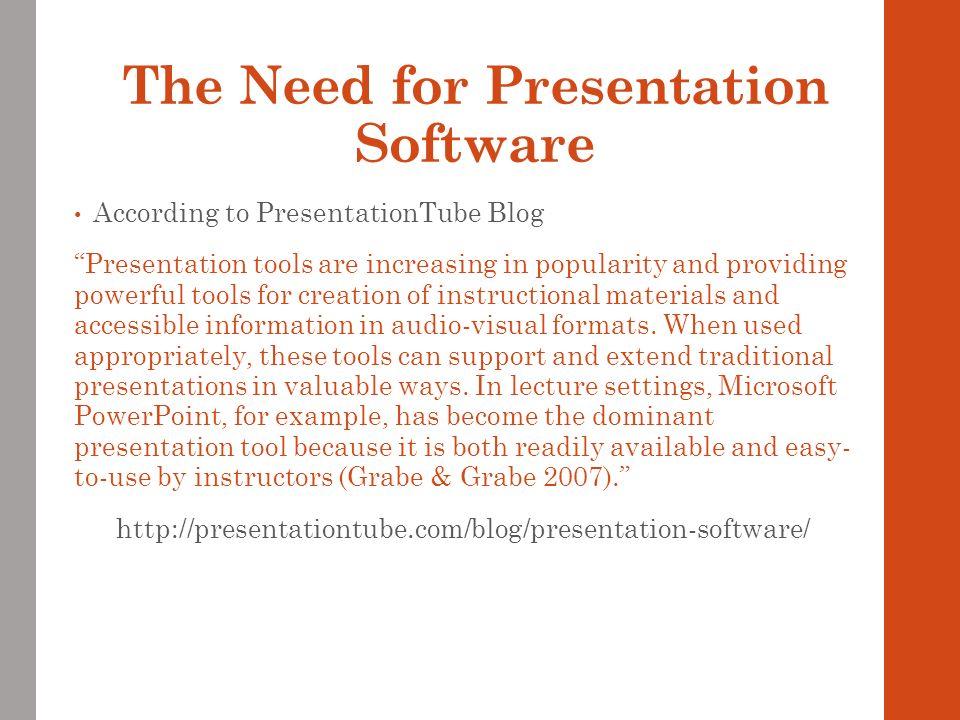 Easy audio visual presentation software