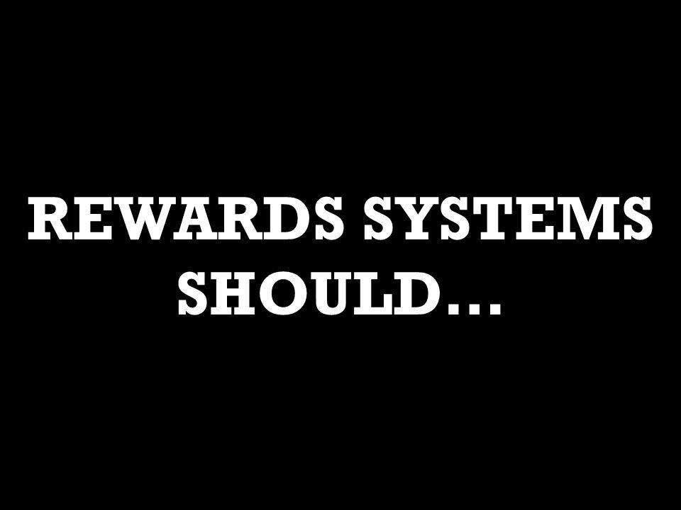 REWARDS SYSTEMS SHOULD…