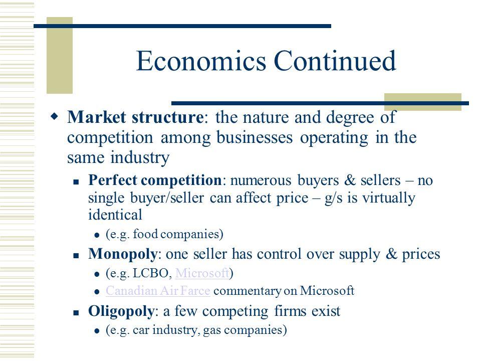 economics market structure Economics: principles and practices © 2008 chapter 7: market structures multiple choice quiz your economics update study-to-go.