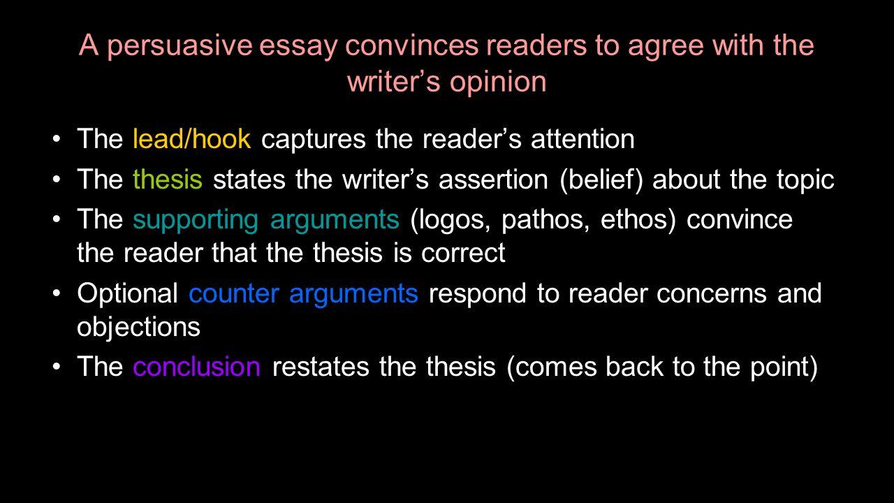 Writers inc persuasive essay
