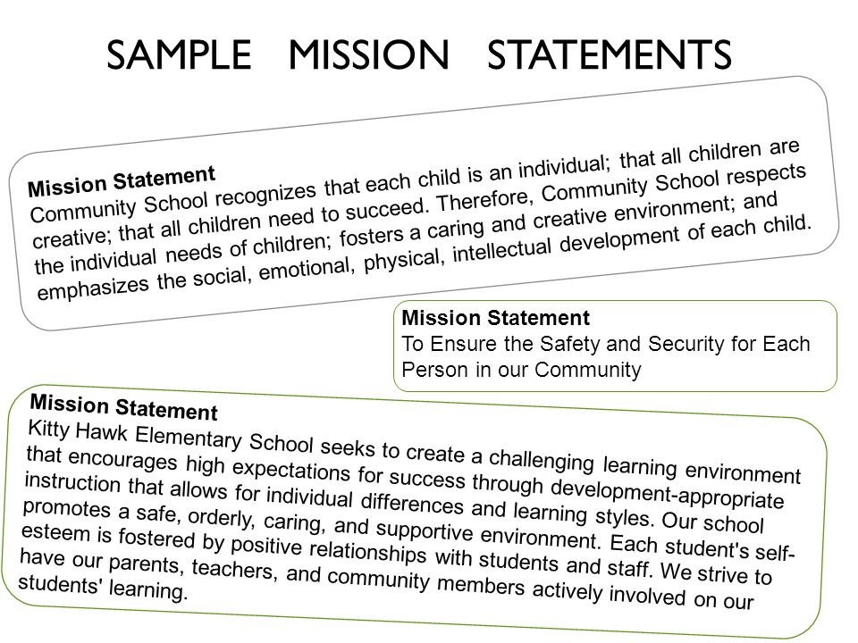 Safety Committee Mission Statement Examples Choice Image Example