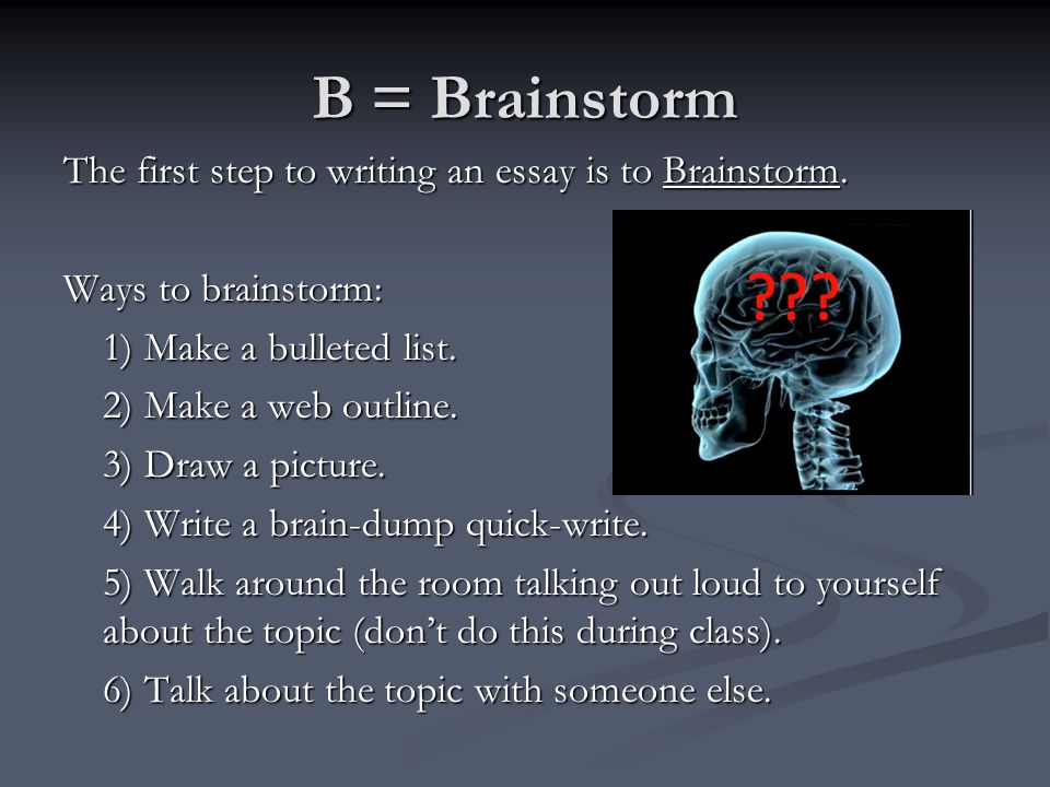 bod erp how to write an essay like a pro yes this is cornell  b brainstorm the first step to writing an essay is to brainstorm