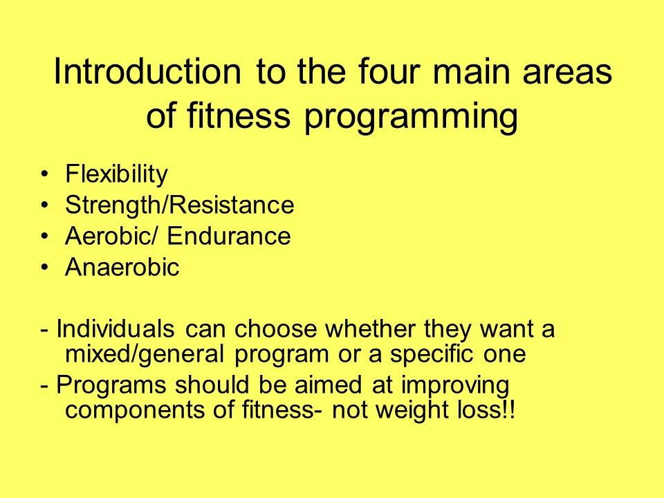 preparation lecture for those presenting week fitness  5 introduction