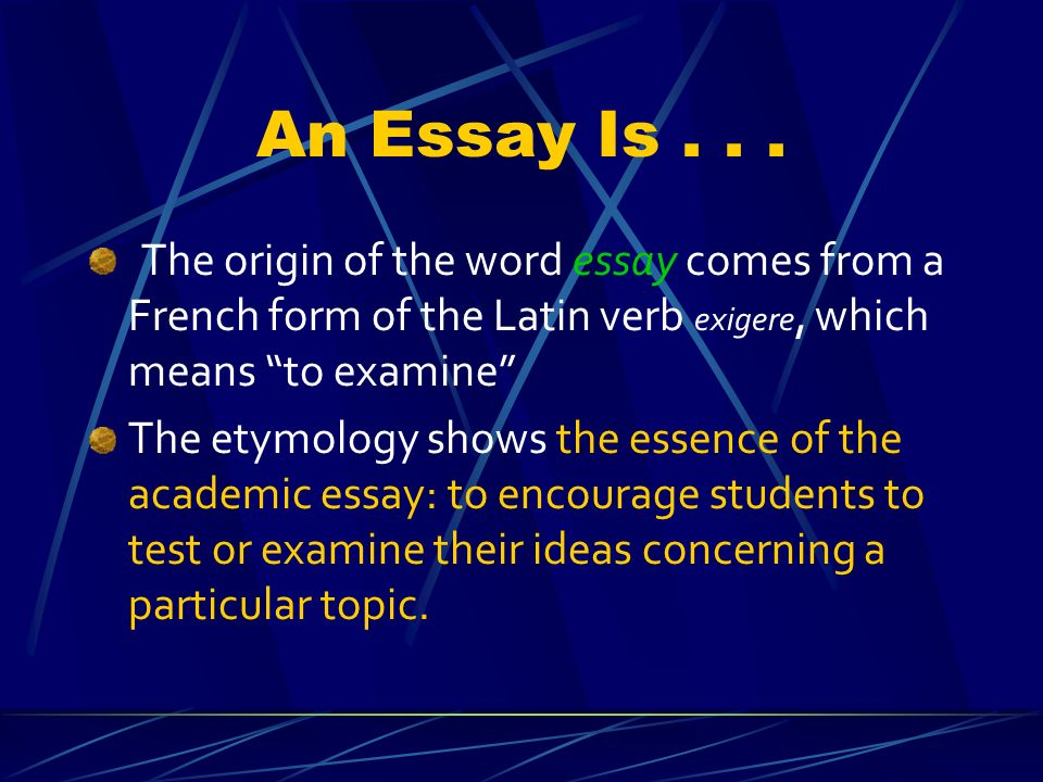 writing a good essay know the structure of an essay show design an essay is