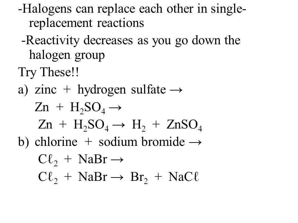 Chapter 8 Section 2 **Remember H O N Cℓ Br I F Types of Chemical ...