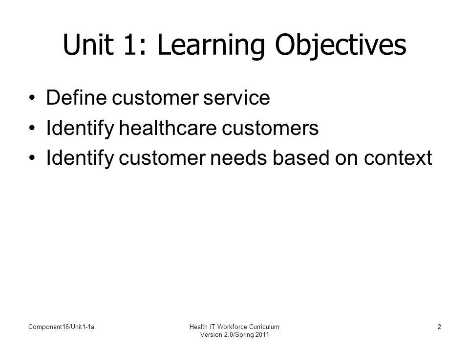 customer service curriculum