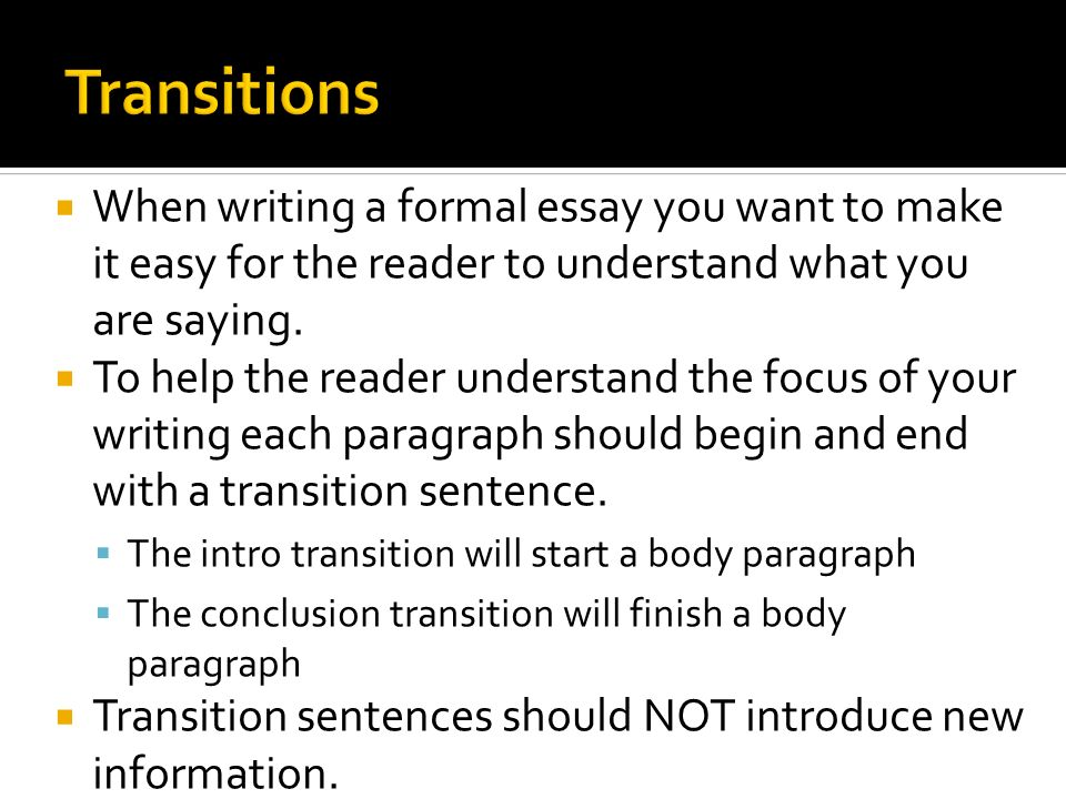 conclude formal essay Handout: how to write an opinion essay the basic five-paragraph essay structure that's how you write an essay in the conclusion, tell them what you told them.