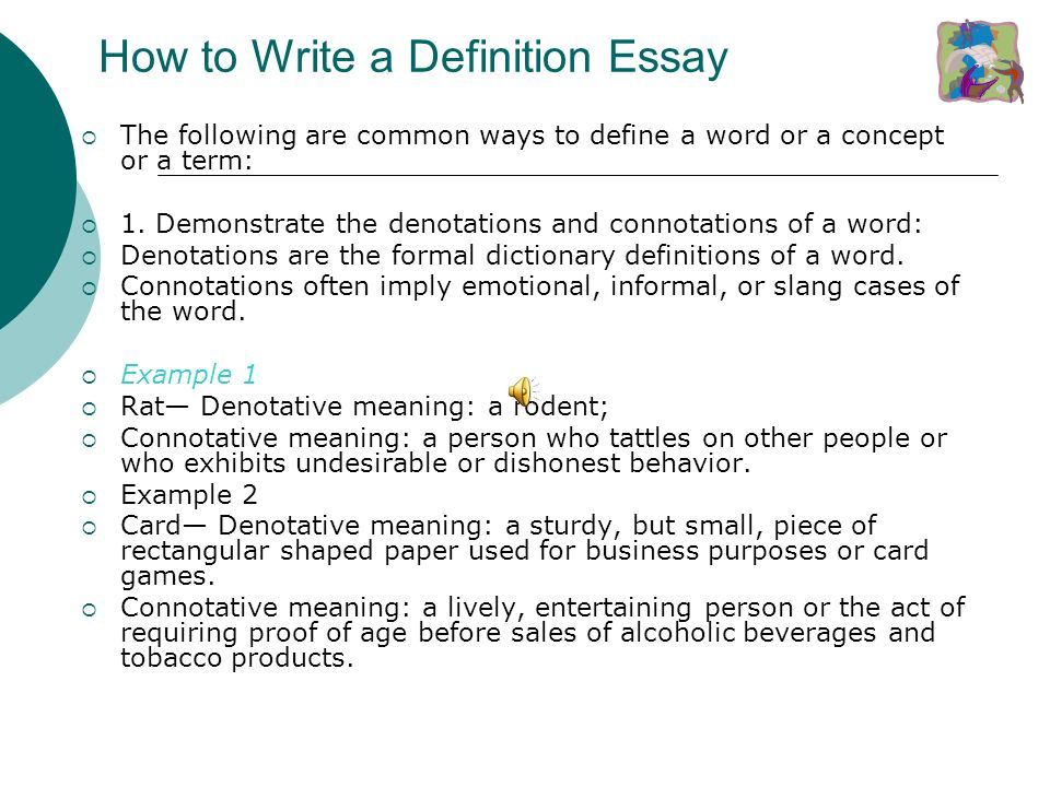 what is a definition essay definition essay explained  the  3 definition