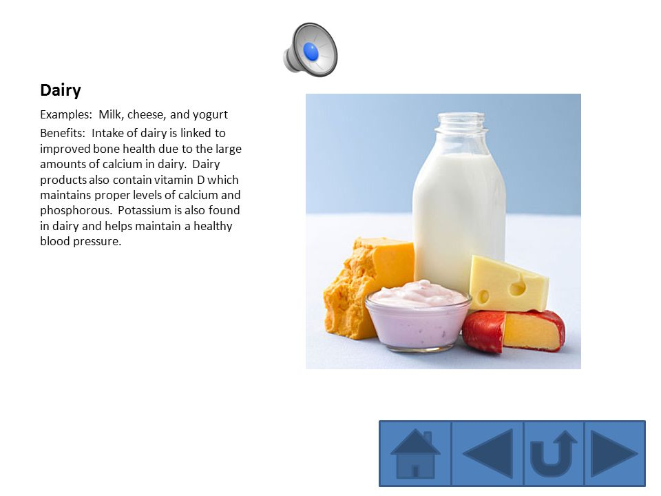 examples of dairy