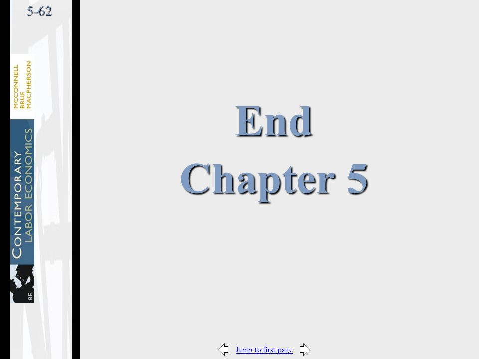 Jump to first page5-62 End Chapter 5