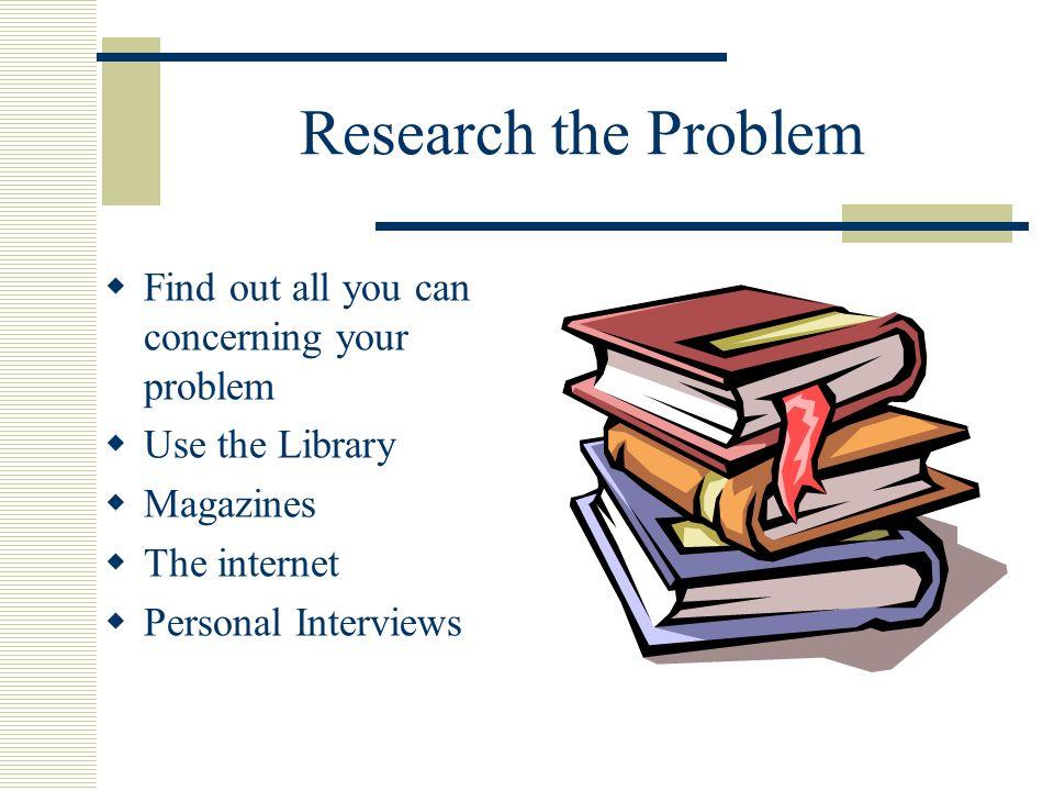Scientific method blueprint for success define the problem make 3 define malvernweather Images