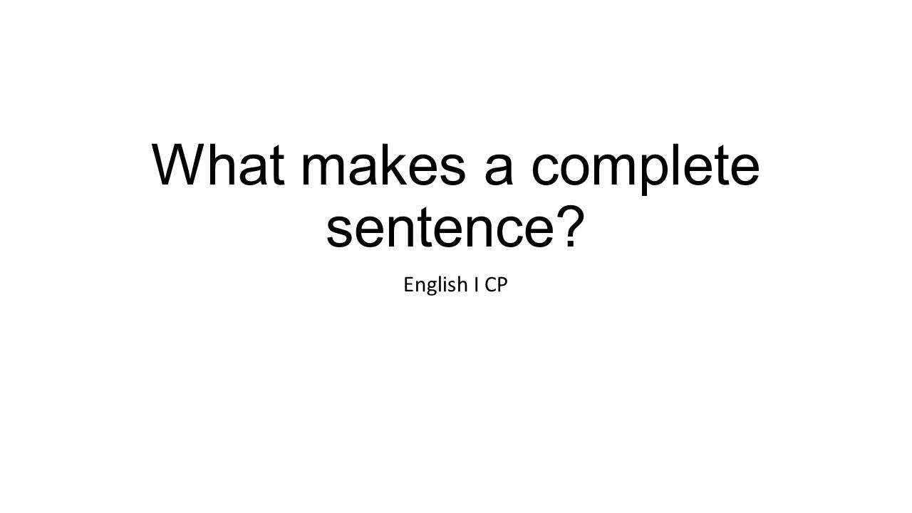 What do you make of these sentences in English?