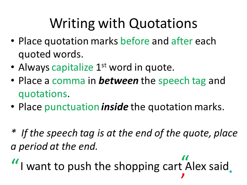 Help on proper capitalization with quotation mark use?