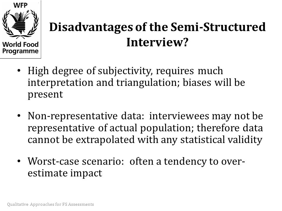 advantages of structured interviews