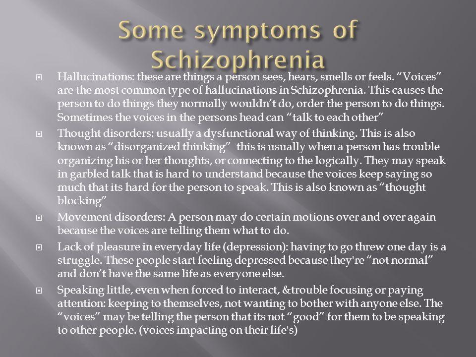 informative essays on schizophrenia