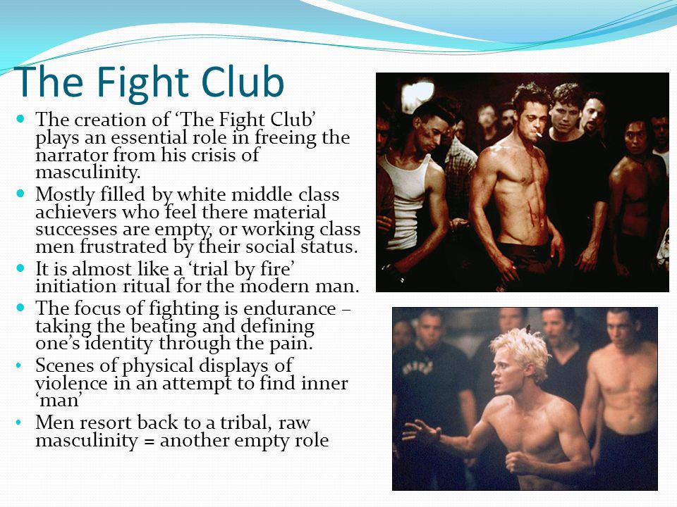 extended essay on fight club