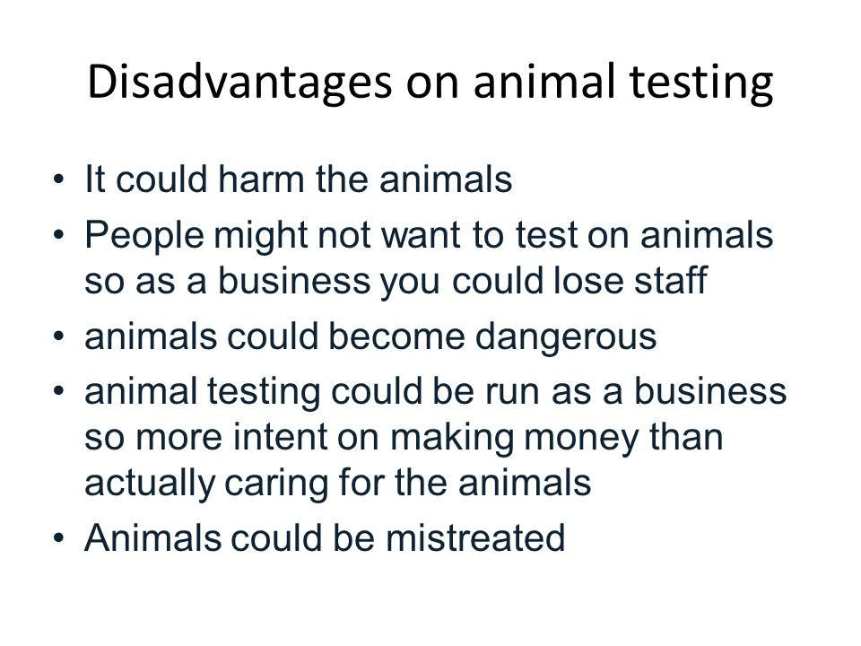 the necessity of animal experimentation