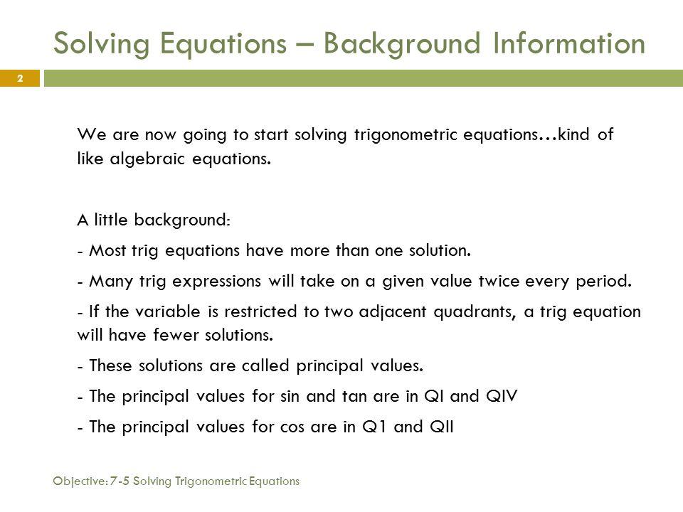 Trigonometric Equations Examples Jennarocca – Trigonometric Equations Worksheet