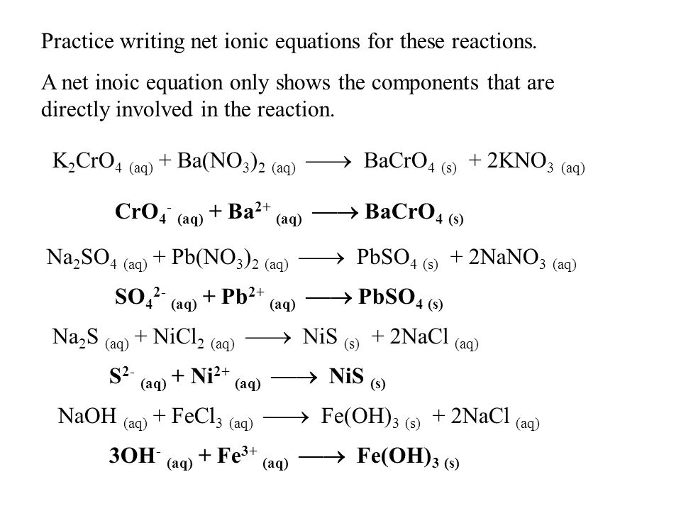 Complete Ionic Equation Calculator Jennarocca – Net Ionic Equations Worksheet