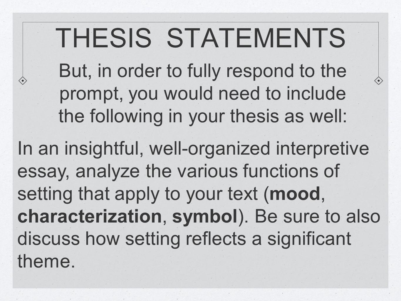 interpretative essay model paper Using interpretative phenomenological analysis for public health the present paper introduces interpretative model is the desired outcome of the.