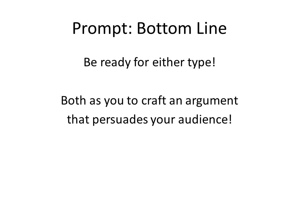 ap argument essay today we will discuss a the two types of  prompt bottom line be ready for either type