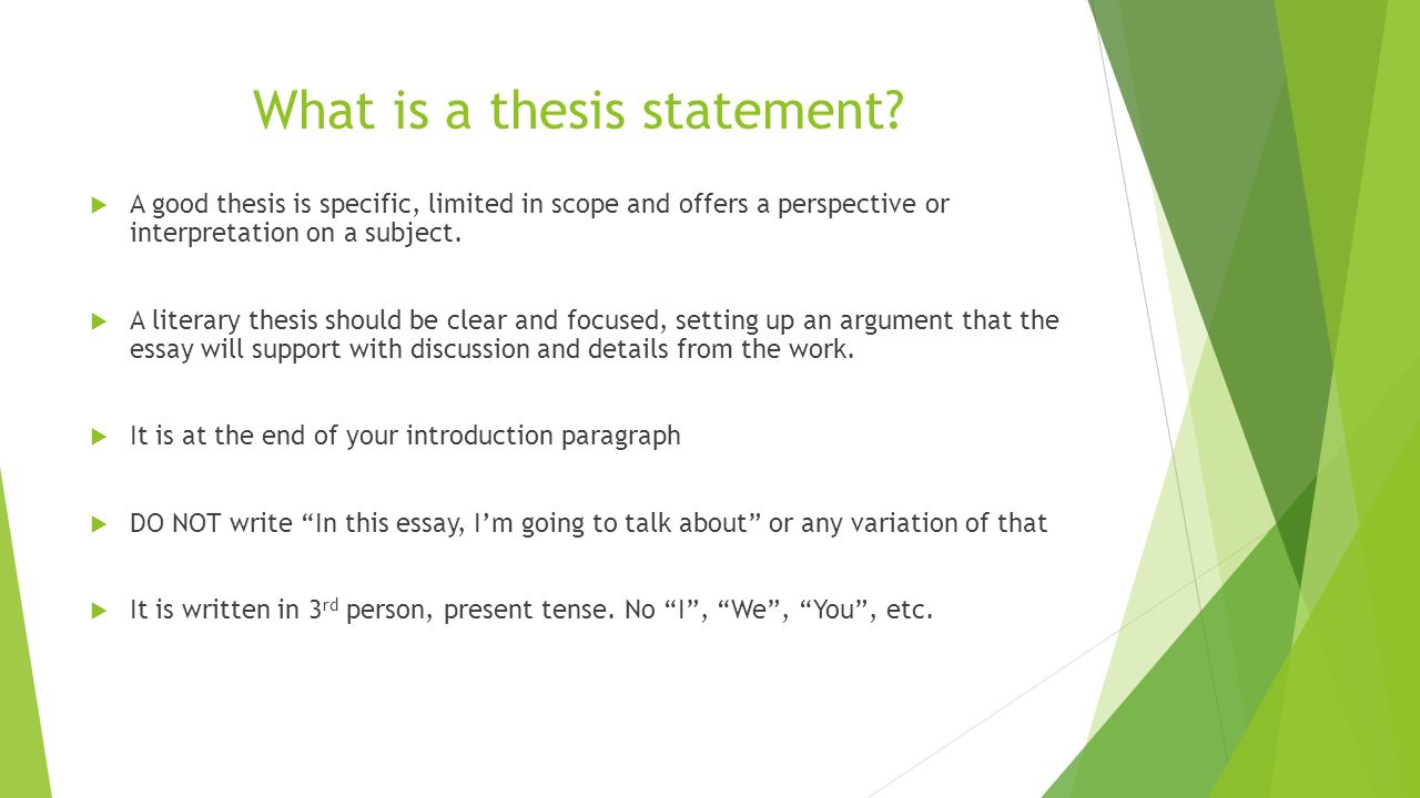 work thesis statement Thesis definition a thesis is a statement in a non-fiction or a fiction work that a writer intends to support and proveone can find examples of thesis statement at the beginning of literary pieces.