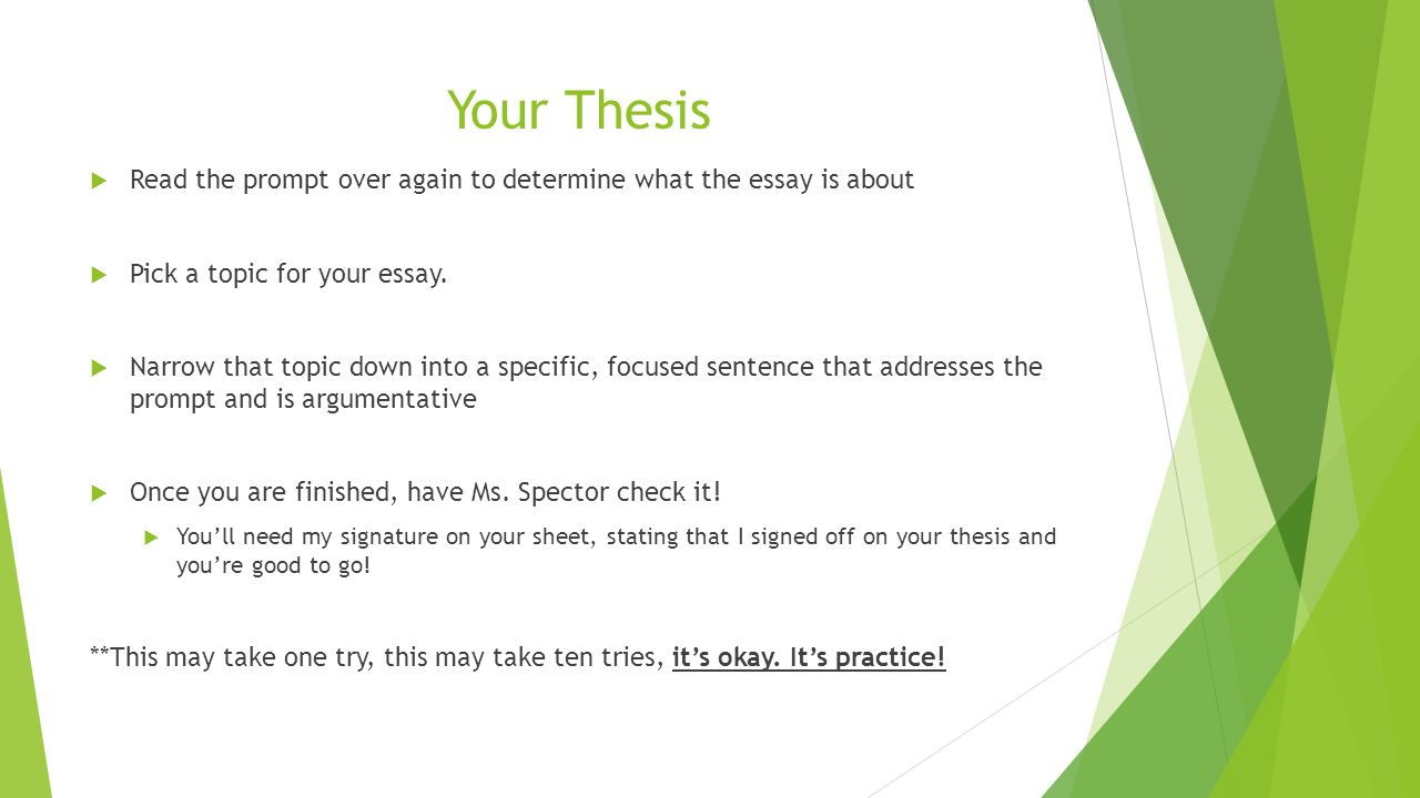 please check my thesis statement I need someone to checkmy thesis statement before i submit it, my essay topic is.