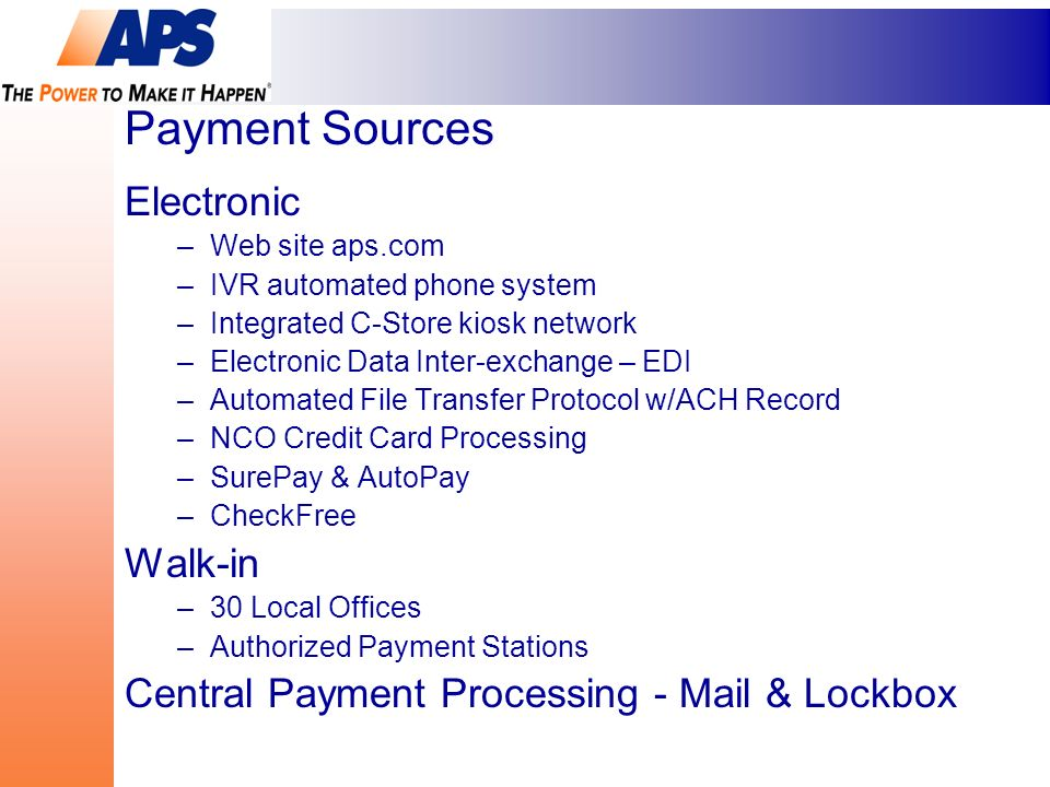 multi sourcing payment options a case study bill dow senior