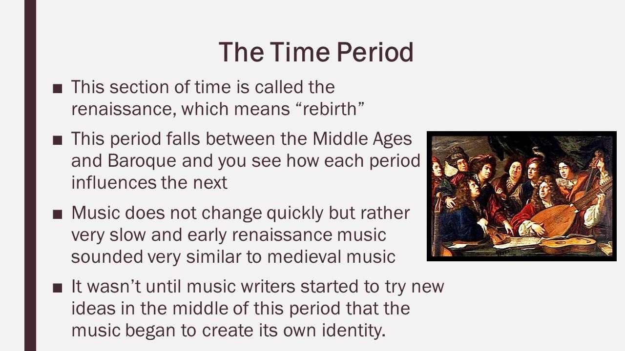 a comparison between the medieval ages and the renaissance period Middle ages vs renaissance - duration: 7:45 dahyana cosme 1,626 views renaissance v medieval art - duration: 7:27 stephen mikell 2,774 views.