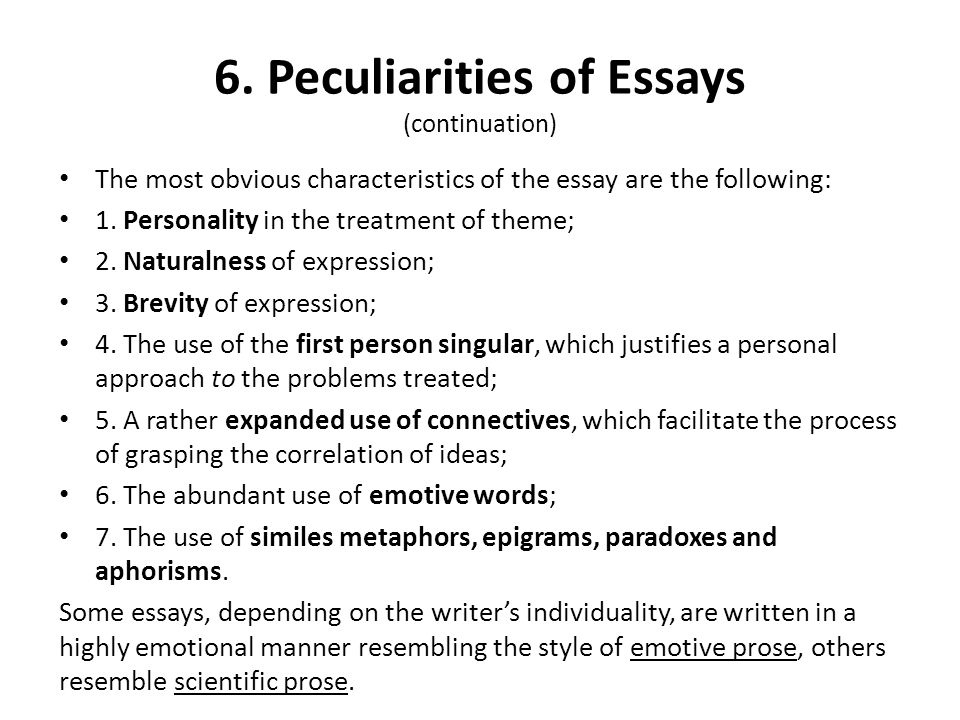 qualities of a good essay writing service Formal Essay  Definition   Examples