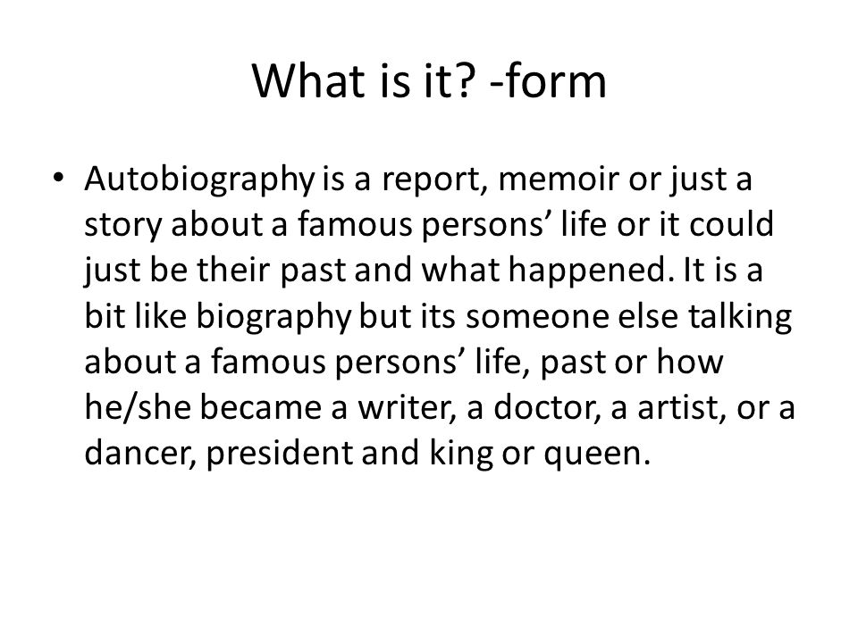 Biography Report Template  BesikEightyCo