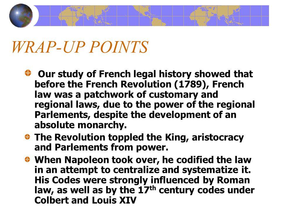revolution code civil