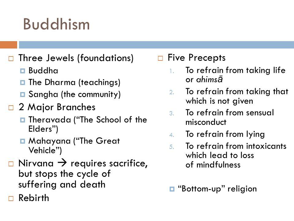 CULTURE MAJOR WORLD RELIGIONS Buddhism Siddhartha Gautama - Three major world religions