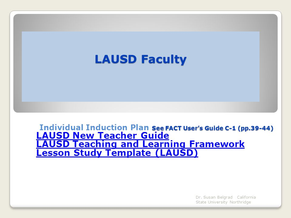 73 Lausd Lesson Plan Template Ideas Of Lausd Schools Face
