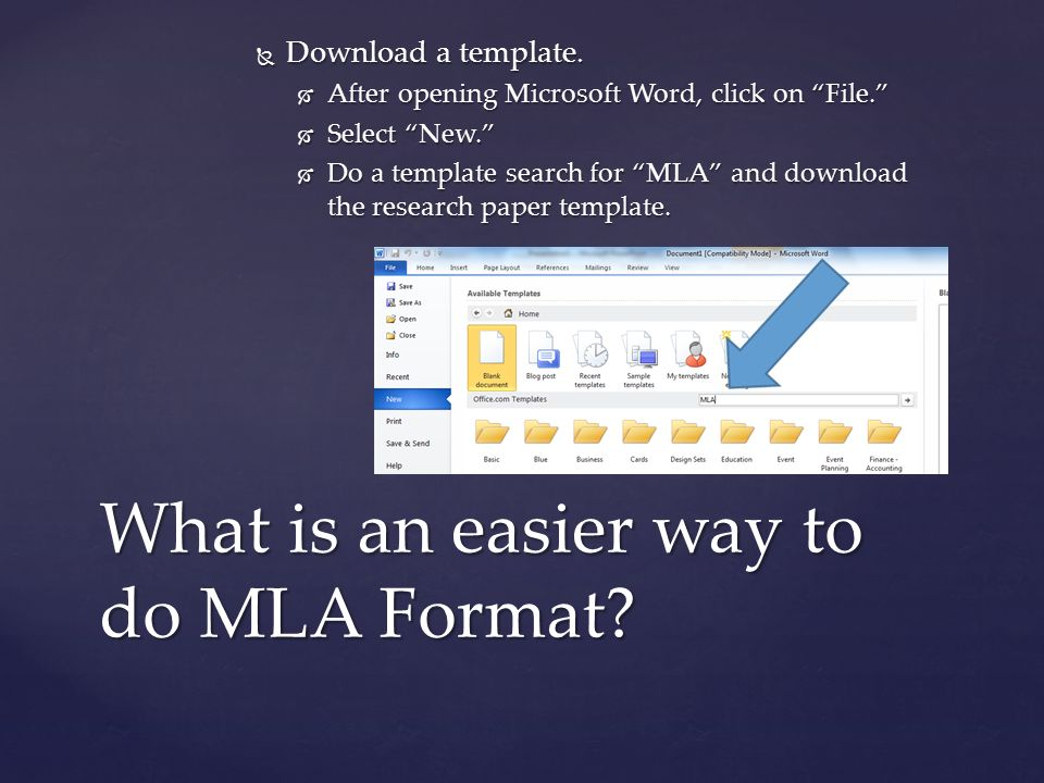 word research paper template Word 2013 training creating an mla paper with citations and a mla template to get a correctly formatted paper  and you are writing research papers.