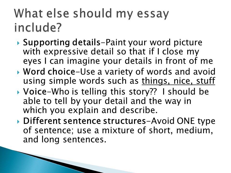 myself essay 400 words